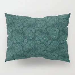 Meredith Paisley - Forest Green Pillow Sham