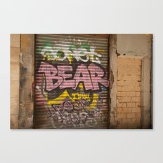Who's Afraid of the Big Pink Bear Canvas Print