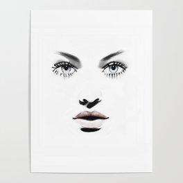 Fashion Illustration - Barbara Poster