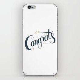 Congrats! iPhone Skin