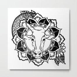 Gaay - ANIMANDALA Metal Print