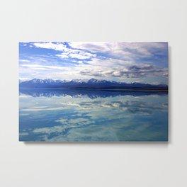 Lake Pukaki New Zealand Metal Print