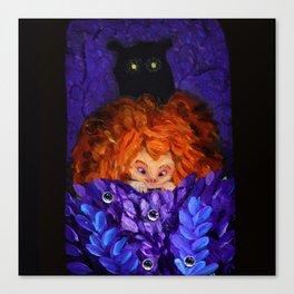 A Bear! Canvas Print