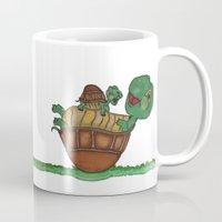 turtles Mugs featuring Turtles by BNK Design