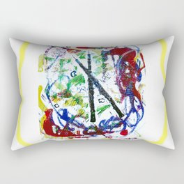 BACH: Oboe d'amore     by Kay Lipton Rectangular Pillow