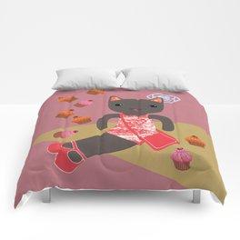 cupcake shower Comforters