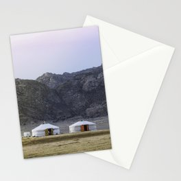 Seeing Double in the Gobi Stationery Cards
