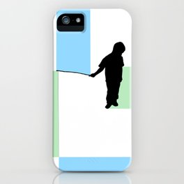Fishing for Color iPhone Case
