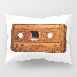 I love you Mixtape Pillow Sham