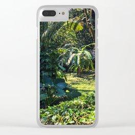 Mayan Jungles of Palenque Clear iPhone Case