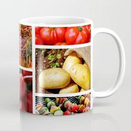 Garden Fresh Vegetables - Kitchen Decor Coffee Mug