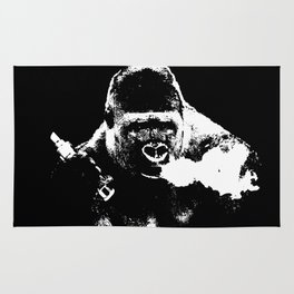 Gorilla Vape Rug
