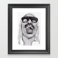 Stevie  Framed Art Print