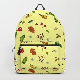 Autumnal Pattern Backpack