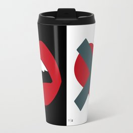 Love Vs Sex Travel Mug