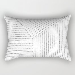 Lines Art Rectangular Pillow