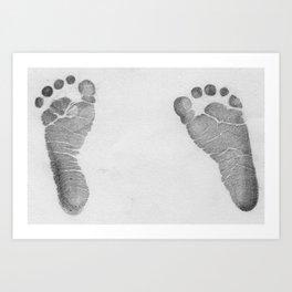 Baby Feet! Art Print