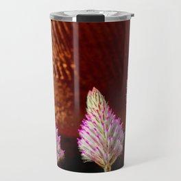 A Flurry Of Furry Flowers Travel Mug