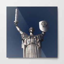 Motherland Monument Metal Print