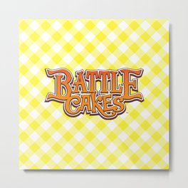 Battlecakes: a snack-sized RPG Metal Print