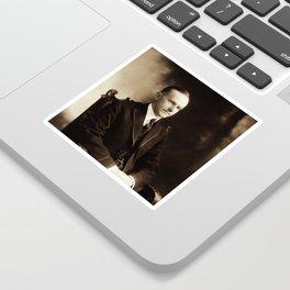 Calvin Coolidge Portrait Sticker