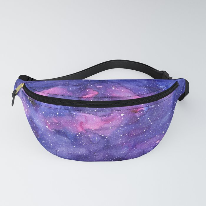 Galaxy Pattern Watercolor Fanny Pack