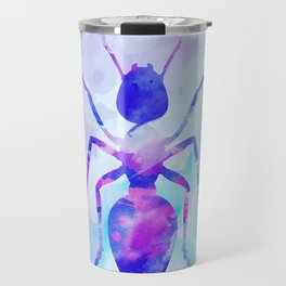 Abstract Ant Travel Mug