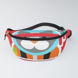 Kung Fu Astro Kitty Fanny Pack