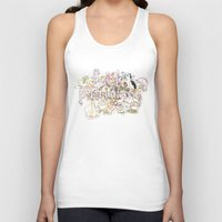 patriarchy Tank Tops featuring Fuck Patriarchy by Beth Frey