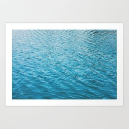 Echo Park Lake Art Print