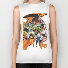 Naruto shippuden Biker Tank