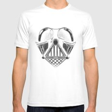 vader in shadows White Mens Fitted Tee MEDIUM