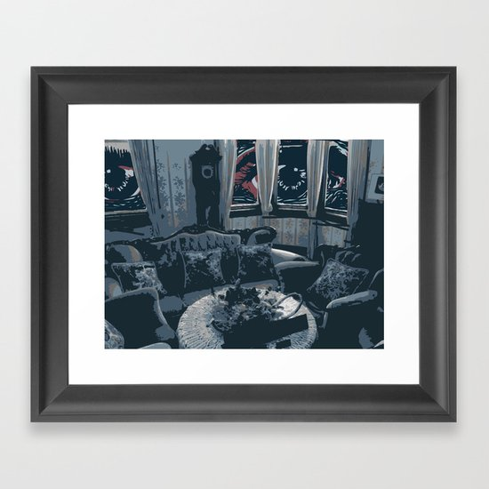 The Outsider Framed Art Print