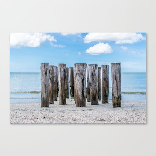 Pillar Beach Canvas Print
