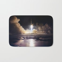 Apollo 17 - Night Launch Bath Mat