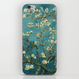 Van Gogh Blossoming Almond Tree iPhone Skin