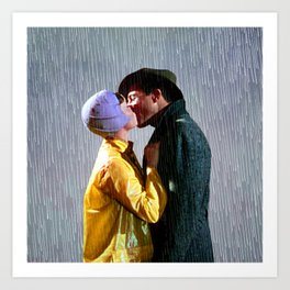 Singin' in the Rain - Slate Art Print