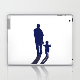 Walking together - hand in hand Laptop & iPad Skin