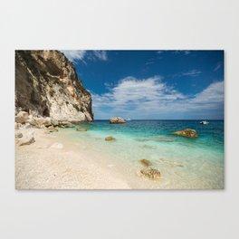 beach rocky Canvas Print