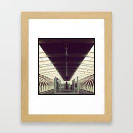 Going home Framed Art Print
