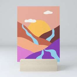 Rivers Mini Art Print
