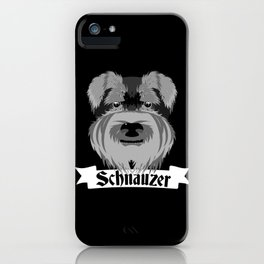 Schnauzer iPhone Case