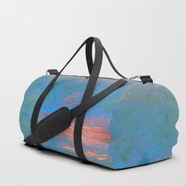"Claude Monet ""Waterloo Bridge - Effect of Sunlight in the Fog"" (1903) Duffle Bag"