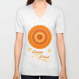 Mandala Divine Power Unisex V-Neck