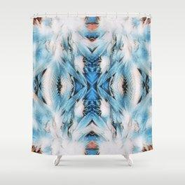 Winter Wonder Weed Shower Curtain