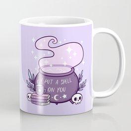 Witch Cauldron // Purple Coffee Mug