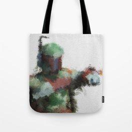 Bounty Hunter: Boba Fett Tote Bag