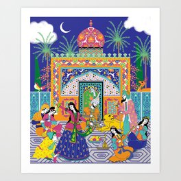 The Guesthouse Art Print