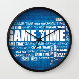 Game Time Wall Clock