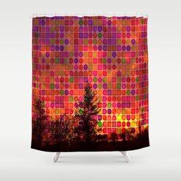 Bright Lights Shower Curtain
